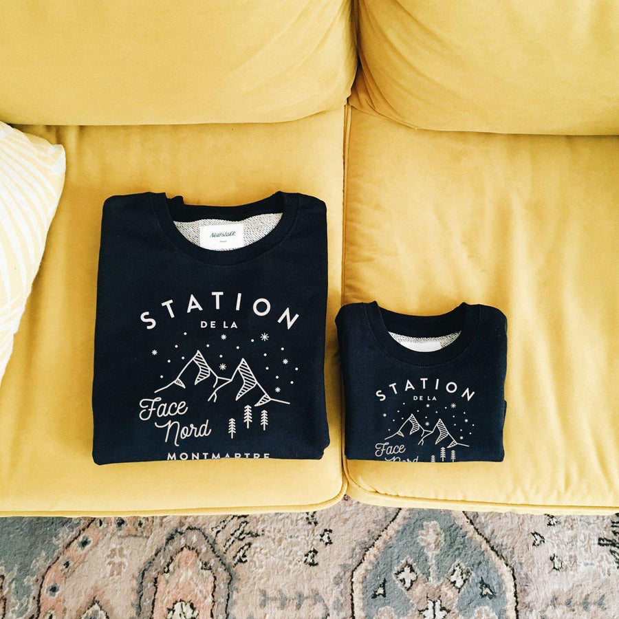 Sweat enfant - Station Nord-Chat-Malo-Chat-Malo-sweat-enfant-paris