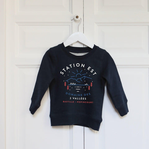 Sweat enfant - Station Est-Chat-Malo-Chat-Malo-sweat-enfant-paris