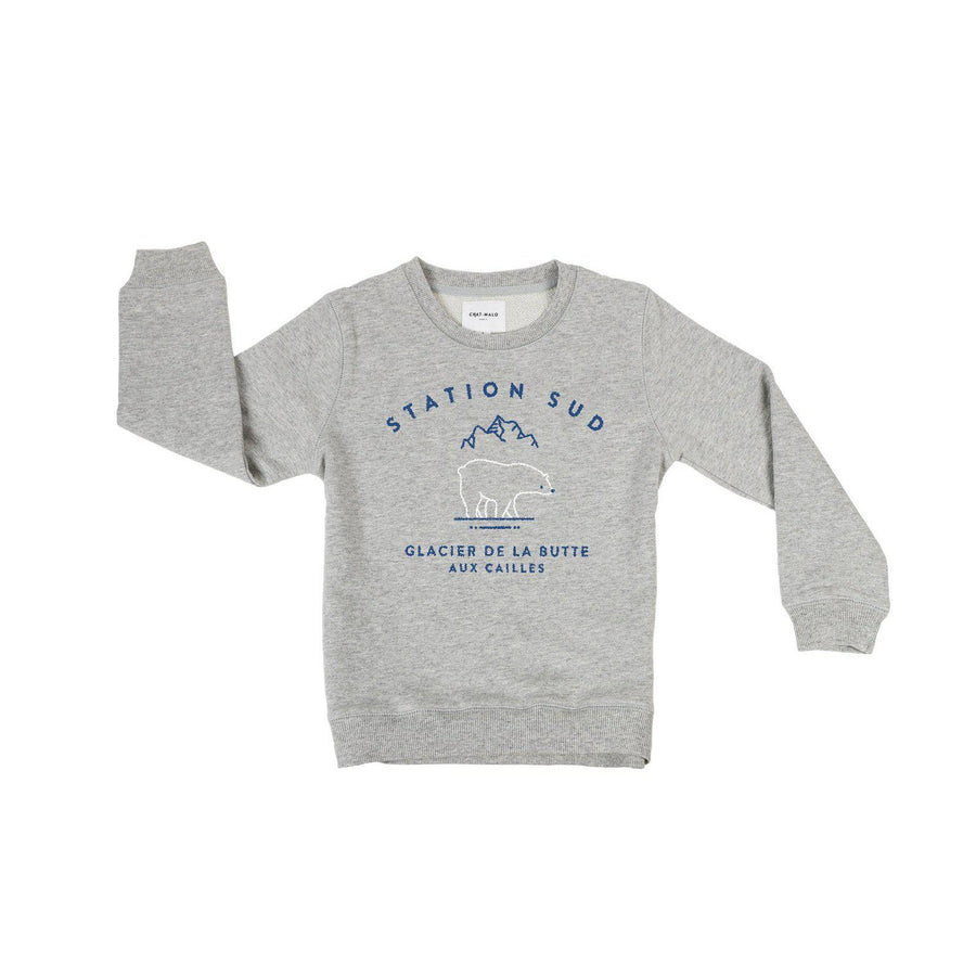 Sweat enfant - Station Sud-Chat-Malo-Chat-Malo-sweat-enfant-paris