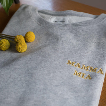 Sweat adulte - Mamma Mia-Chat-Malo-Chat-Malo-sweat-enfant-paris