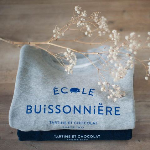 Chat-Malo Paris - sweat enfant - Collaboration Tartine et Chocolat