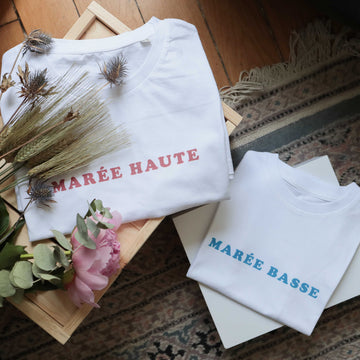 Duo MAREE HAUTE rouge & MAREE BASSE-Chat-Malo-Chat-Malo-sweat-enfant-paris