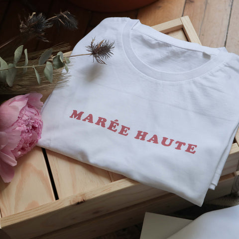Chat-Malo Paris - tee-shirt adulte marée haute