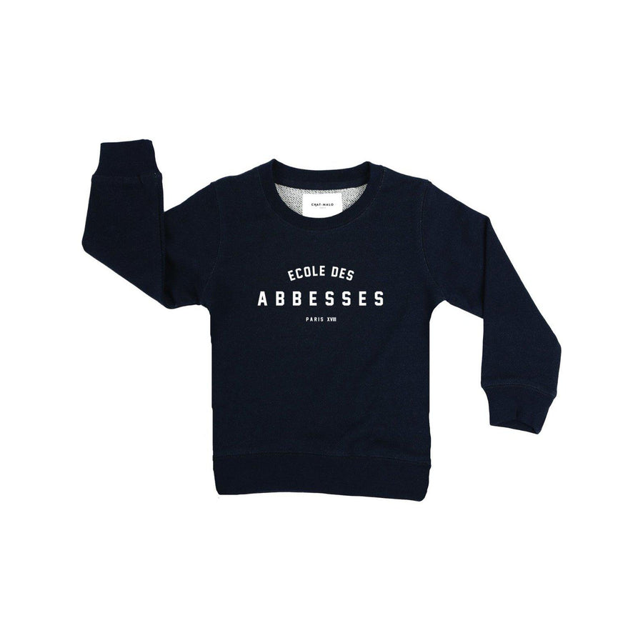 Sweat enfant - Le petit Abbesses-Chat-Malo-Chat-Malo-sweat-enfant-paris