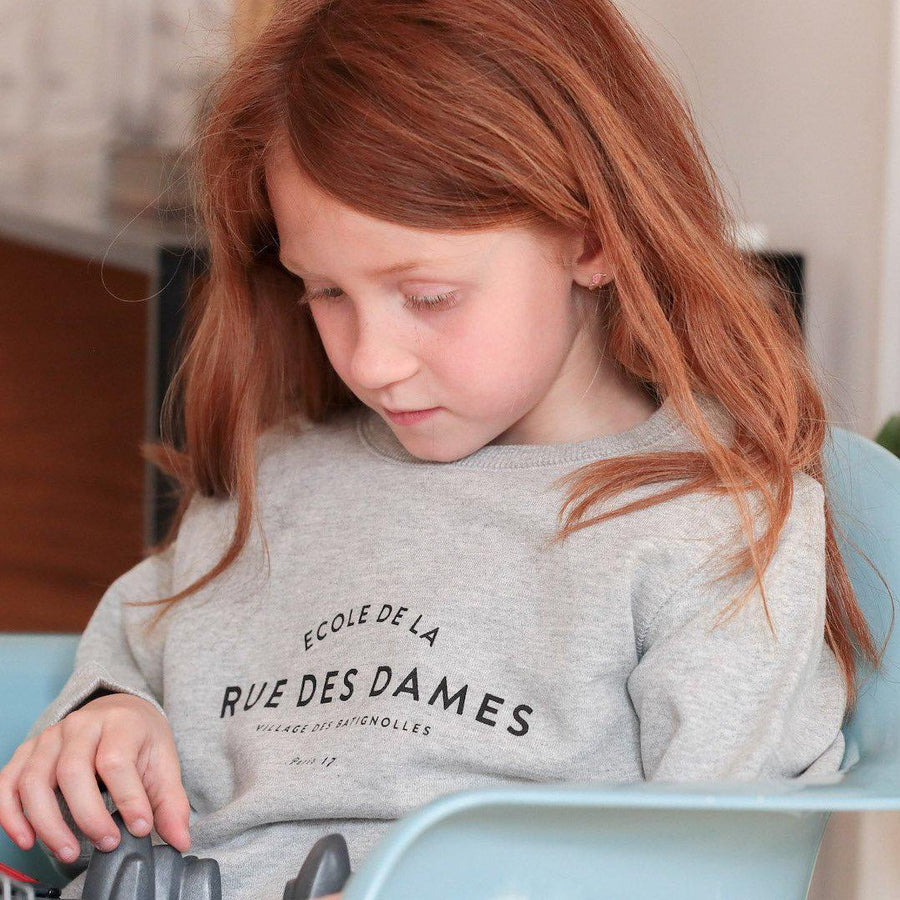 Sweat enfant - Le petit Batignolles-Chat-Malo-Chat-Malo-sweat-enfant-paris