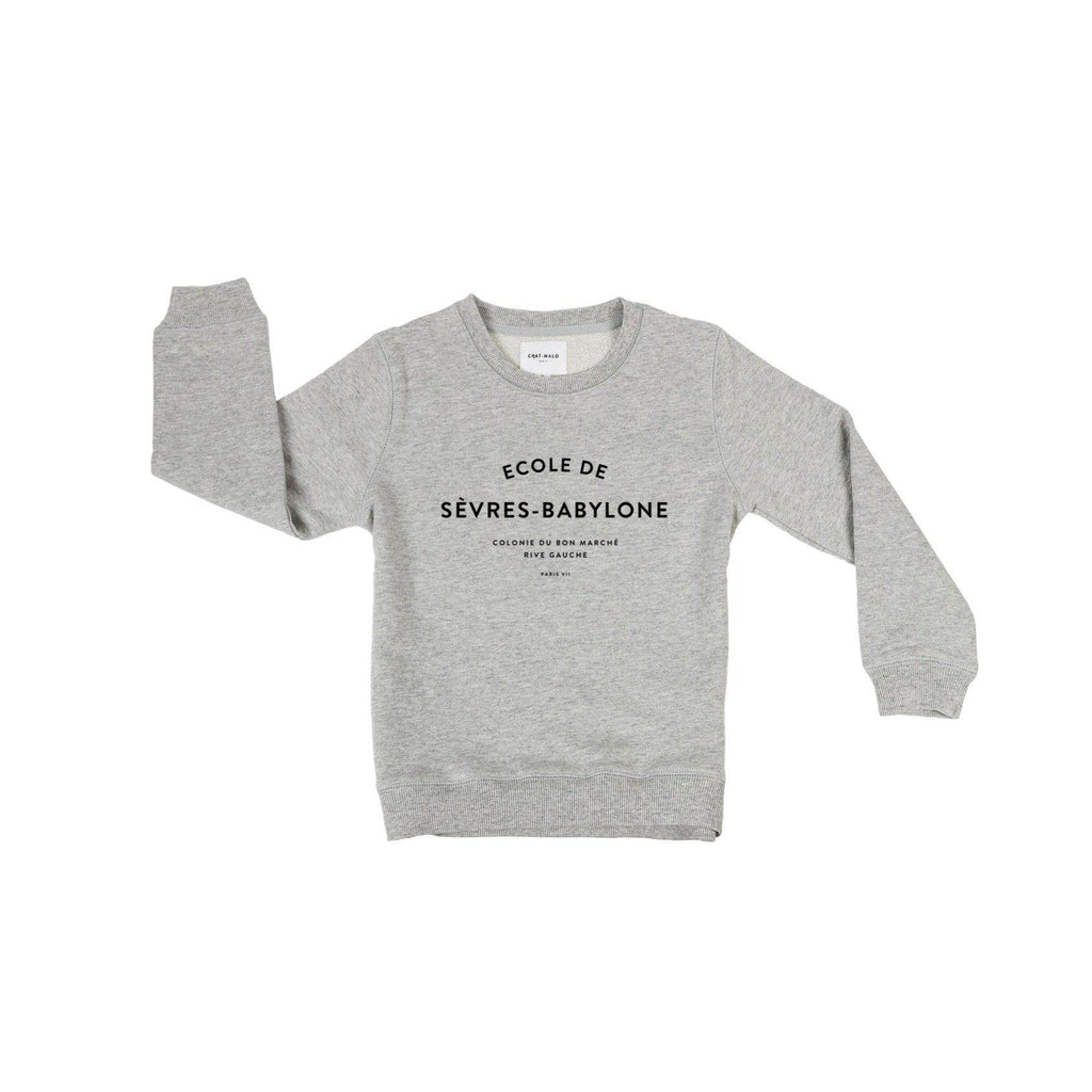 Sweat enfant - Le petit Babylonien-Chat-Malo-Chat-Malo-sweat-enfant-paris