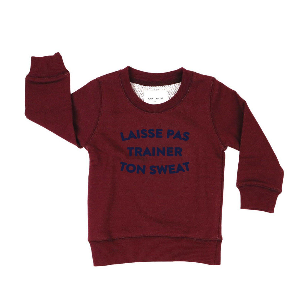 Chat-Malo Paris - sweat enfant - Le petit fiston