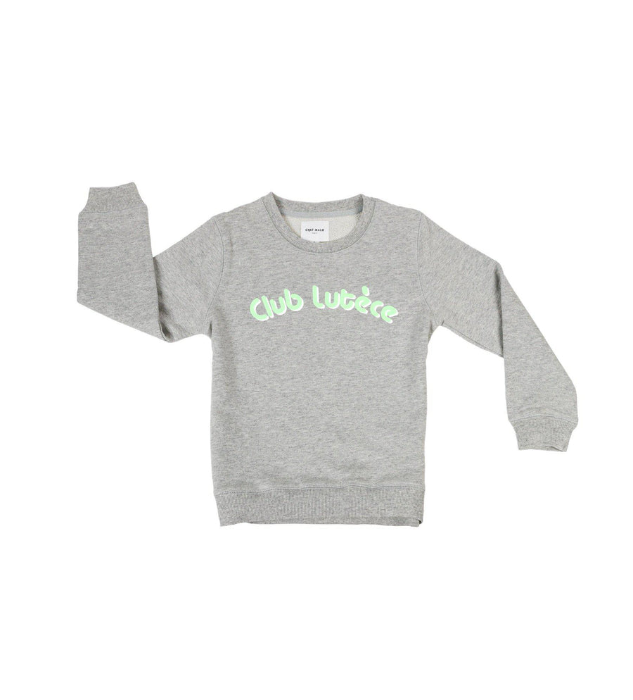 Chat-Malo Paris - sweat enfant - Club Lutèce