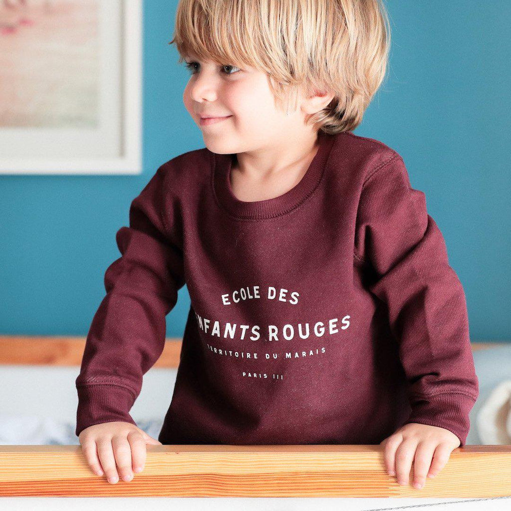 Sweat enfant - Le petit Marais-Chat-Malo-Chat-Malo-sweat-enfant-paris