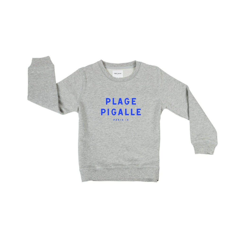 Chat-Malo Paris - sweat enfant - Plage Pigalle