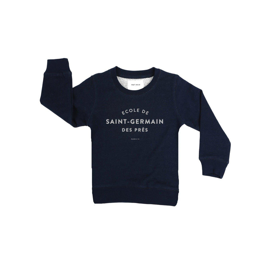 Sweat enfant - Le petit Germain-Chat-Malo-Chat-Malo-sweat-enfant-paris