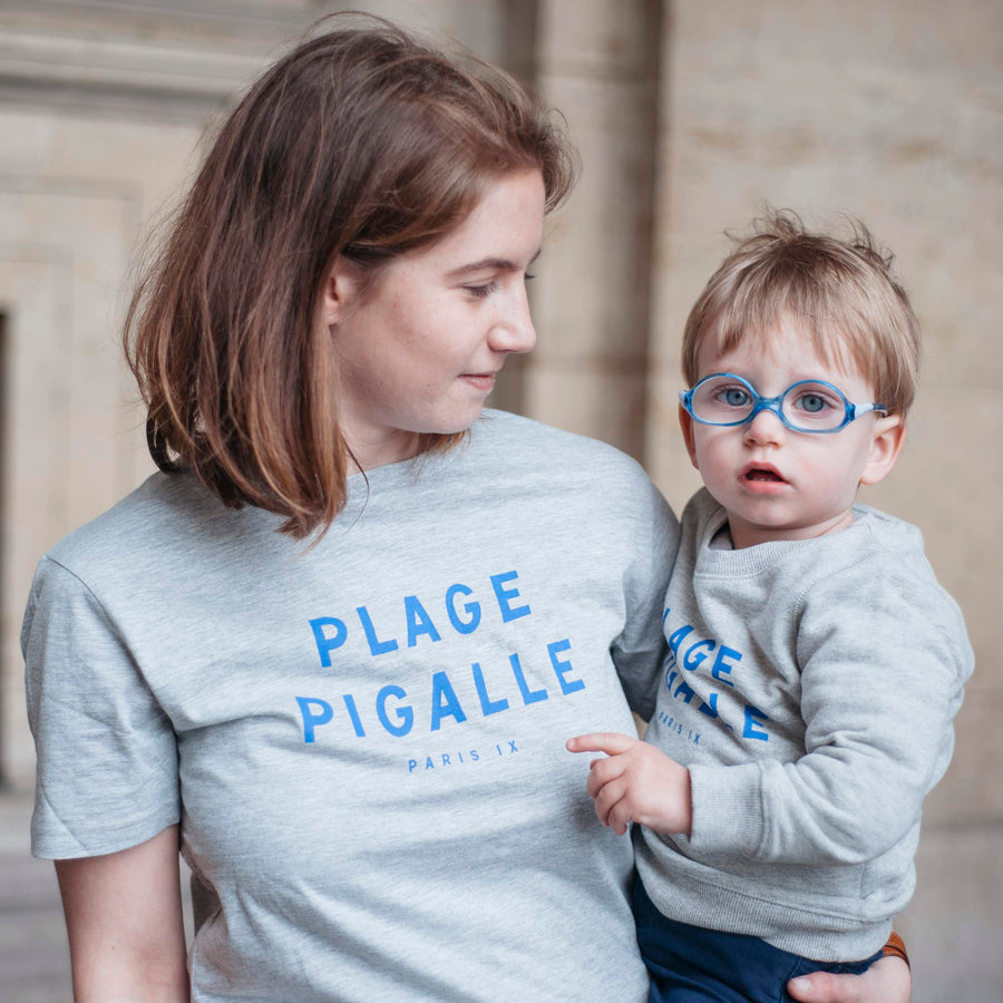 Chat-Malo Paris - sweat enfant et adulte - Pigalle