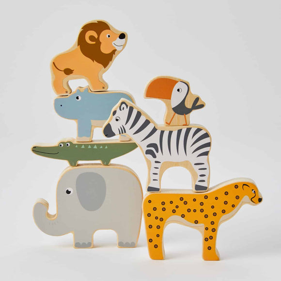 Circus Studio - African Animal Stacker - 7 Piece