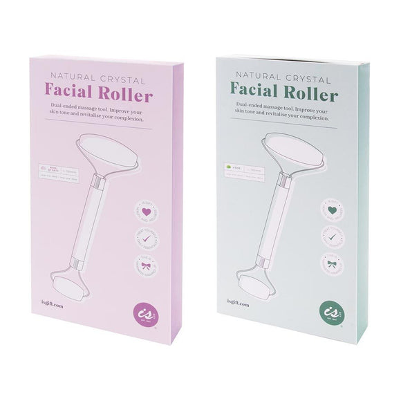 Facial Rollers Jade & Rose Quartz