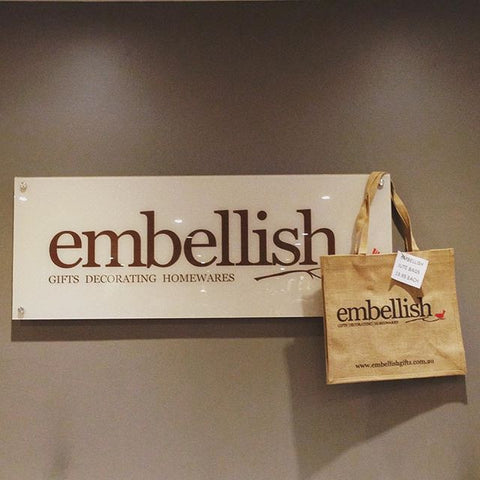 Embellish Jute Bag