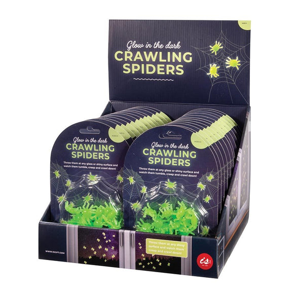 Glow in the Dark Creepy Crawling Spiders