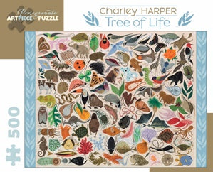 Puzzle: Charley Harper Tree of Life 500-Piece Jigsaw