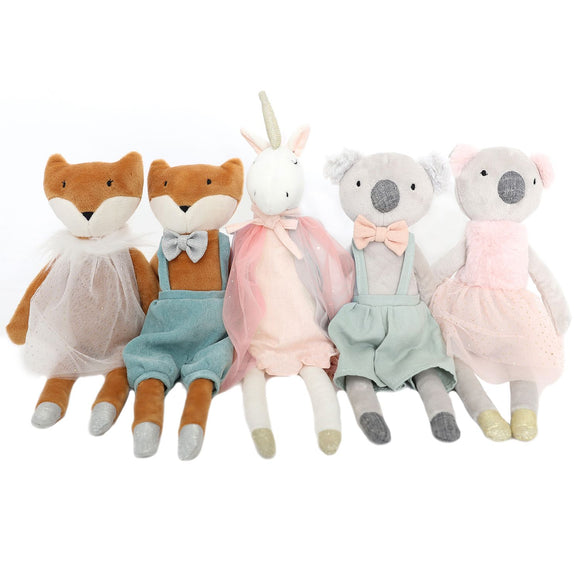 Colourful Kids Plush Toy - Assorted Designs by Splosh