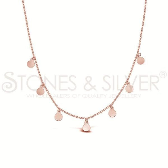 Necklace - Sterling Silver Rose Gold