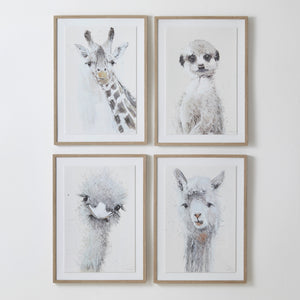 Kids Framed Wall Art - 72 x 52 cm