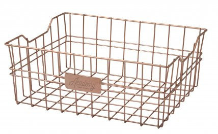Orwell Rectangle copper basket