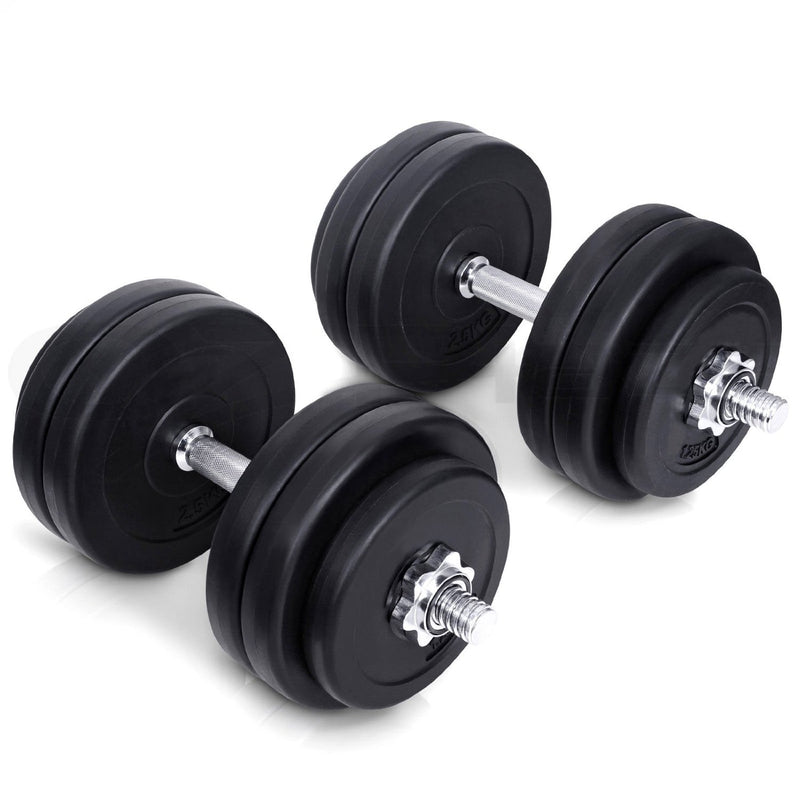 Buy TnP Accessories Adjustable Dumbbell Set Chrome Handle 50Kg
