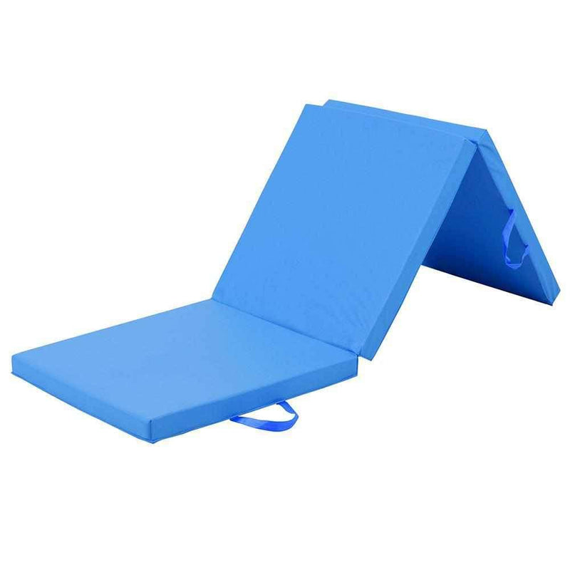 Buy TnP Accessories® Tri-Fold Yoga Exercise Mat - 5cm Blue