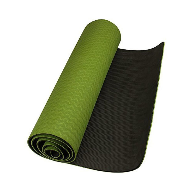 Buy TnP Accessories® 6mm Yoga Mat Non Slip TPE Exercise Mat - Dark Green