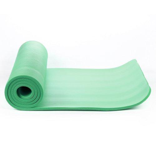 Buy TnP Accessories® NBR Foam Yoga Mat 15mm Thick Dark Green