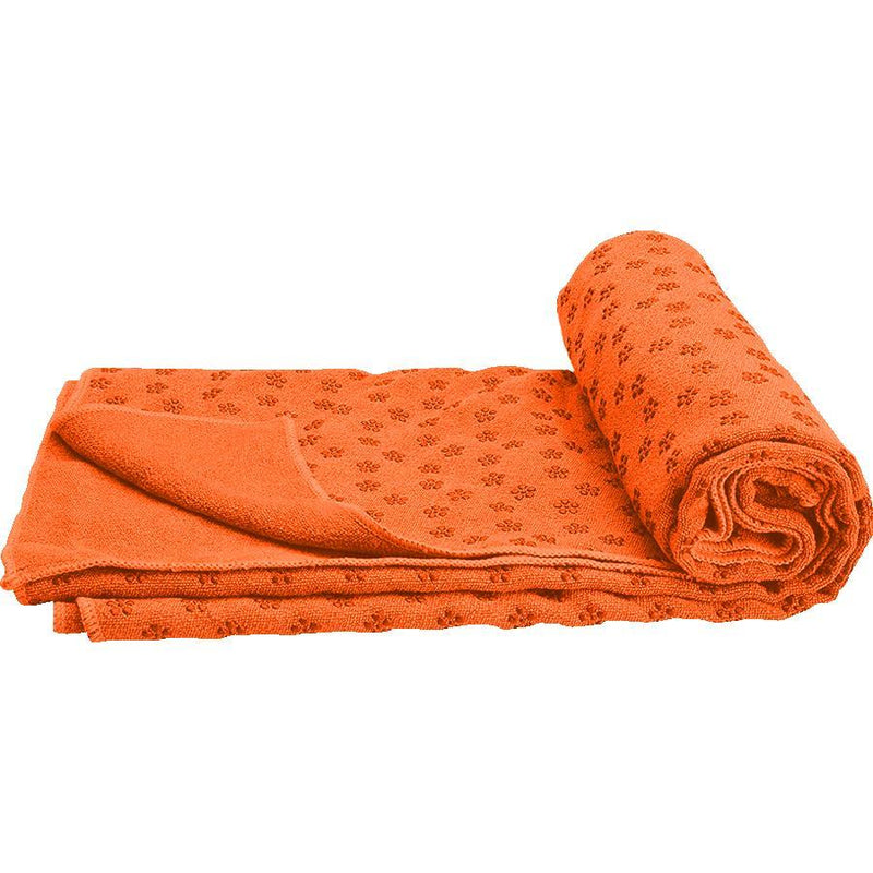 Buy TnP Accessories Non-Slip Yoga Towel Orange