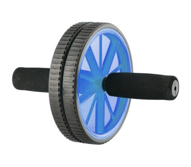 Buy Ab Wheel With Foam Handle Blue
