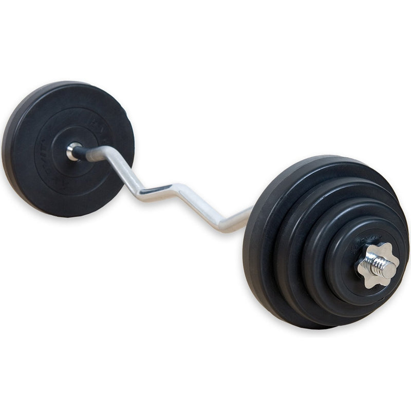 Buy TnP Accessories® Barbell Set Curve Weights 25kg