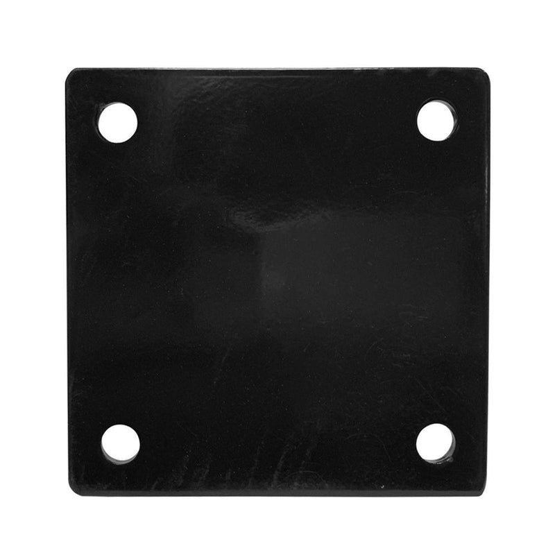 Buy Ceiling Square Wall Mount Hook Anchor - Black