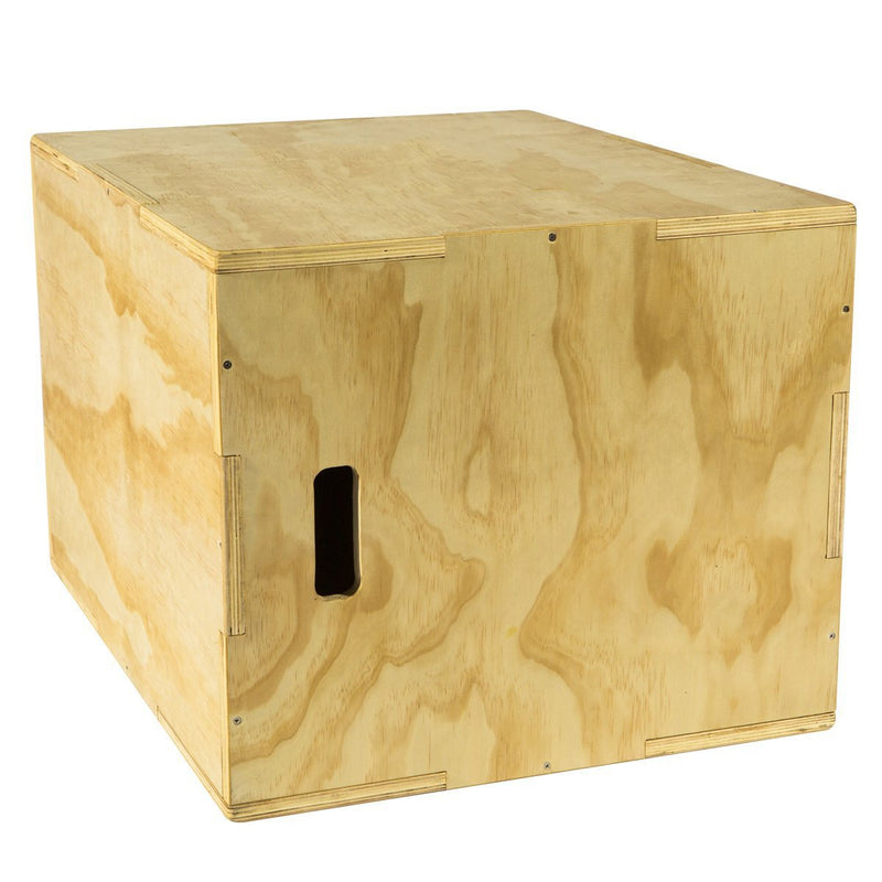 Buy TnP Accessories® Wooden Plyo Box Plyometrics CrossFit Fitness - 76cm x 50cm x 60cm