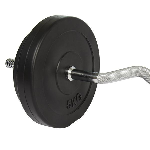"Buy TnP Accessories 1"" EZ Curl Bar Set- 23.5kg"