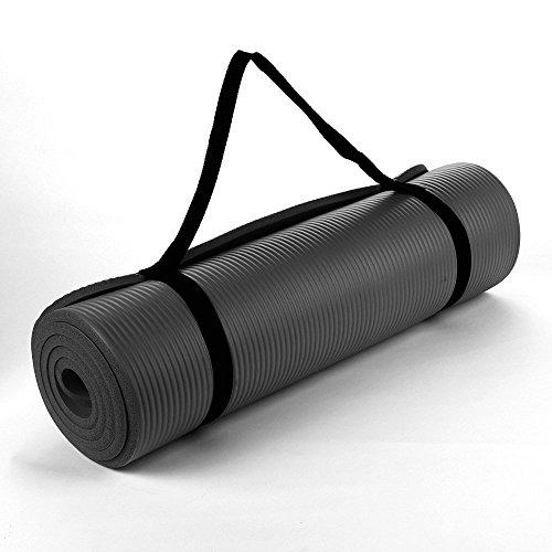 Buy TnP Accessories® NBR Foam Yoga Mat - 190cm Long - Black