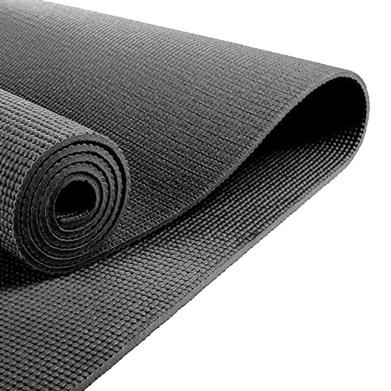 Buy TnP Accessories 6mm Yoga Mats Soft Non Slip Exercise Mat - Black