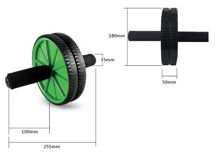 Buy TnP Accessories® TnP Abs Abdominal Exercise Wheel Gym Fitness Roller
