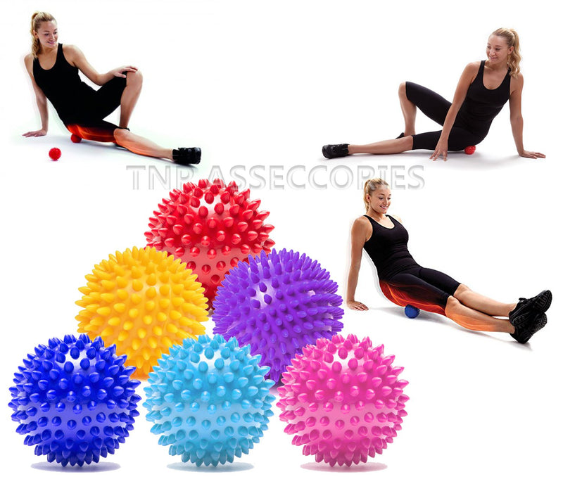 Buy TnP Accessories® Spiky Massage Ball Relieve Muscle Tension Red 7.5cm