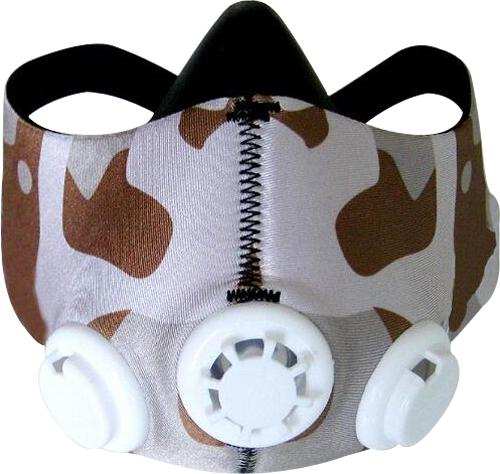 Buy Camo Training Mask - Medium - Desert Camo