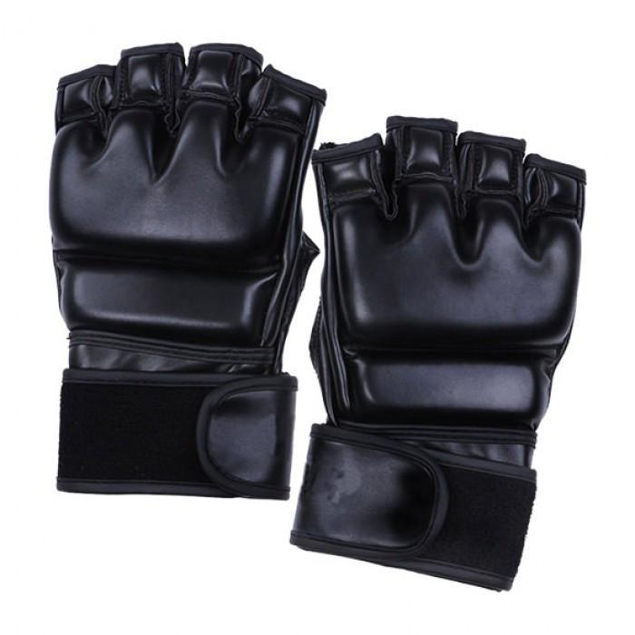 Buy Leather Grappling Gloves Martial Arts