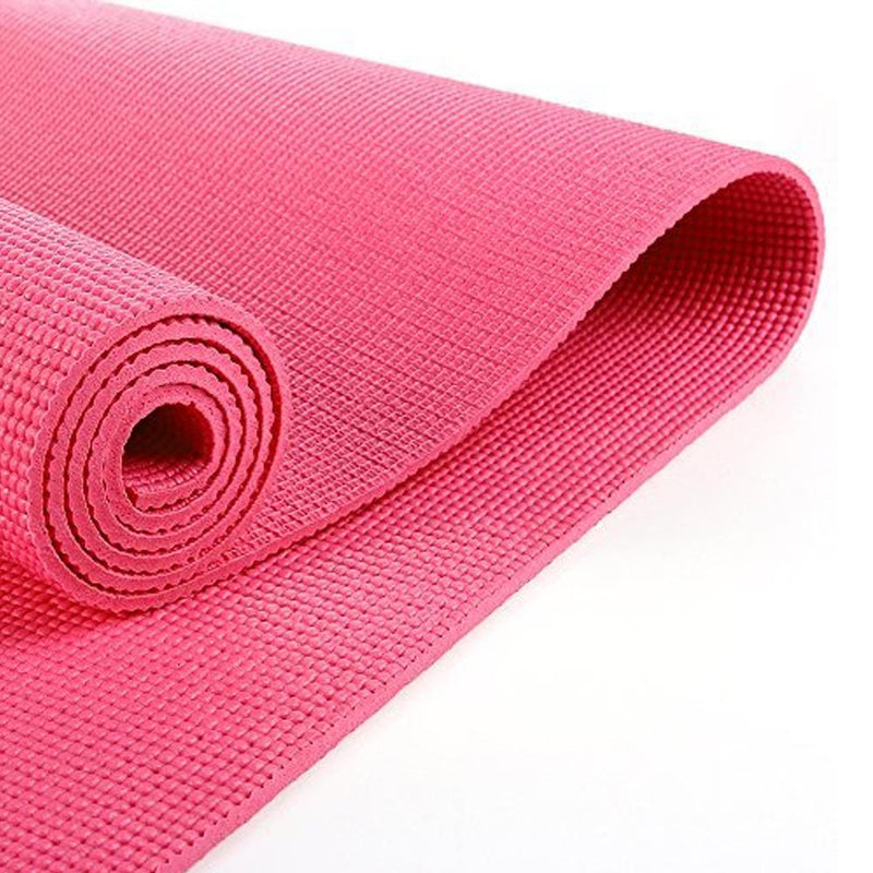 Buy TnP Accessories® 6mm Yoga Mats Soft Non Slip Exercise Mat - Pink
