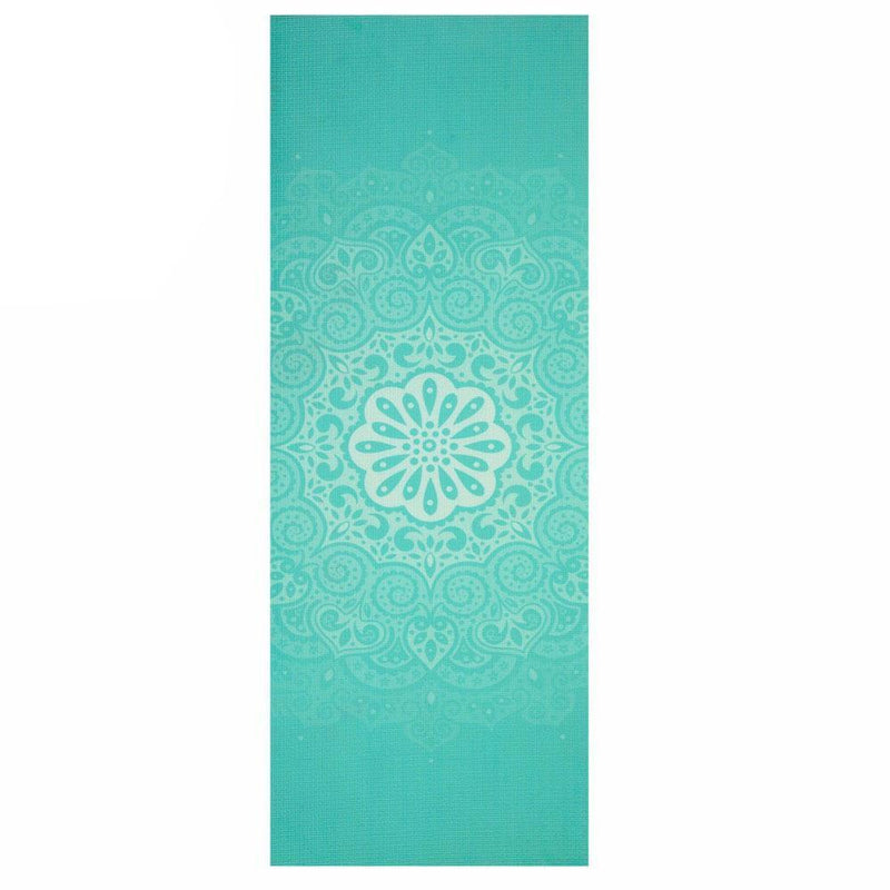 Buy 6mm Yoga Mats Soft Non Slip PVC Mandala Exercise Mat - Teal