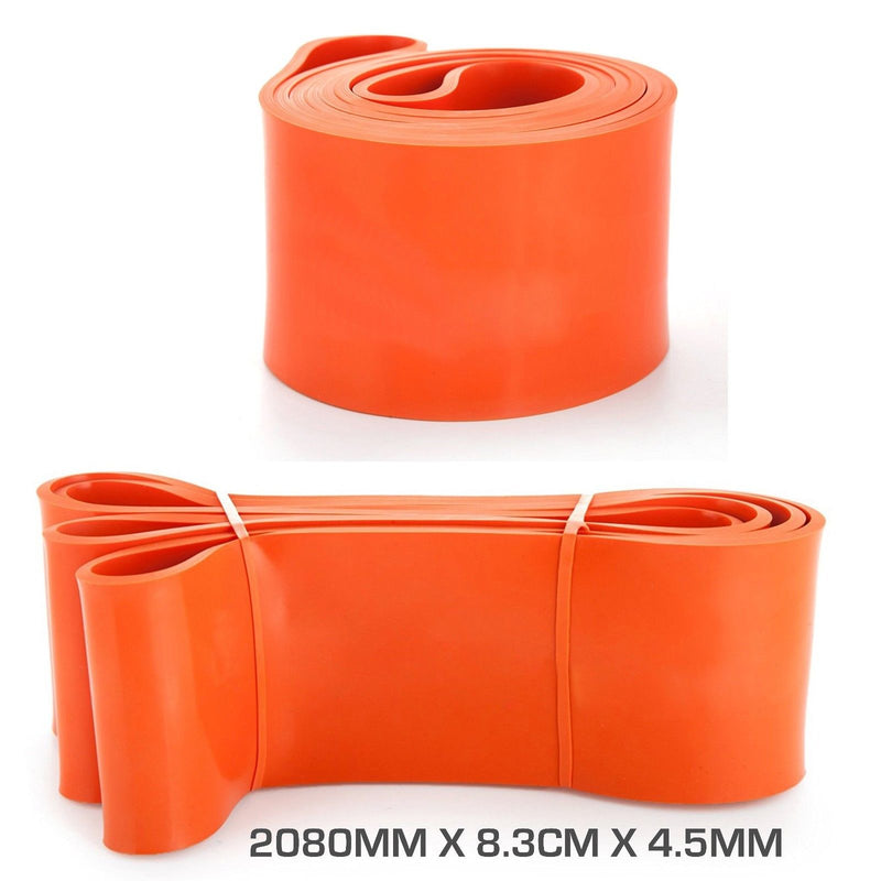 Buy Resistance Band 2080 X 8.3Cm X 4.5mm Orange