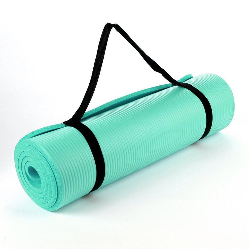 Buy TnP Accessories® NBR Foam Yoga Mat 15mm Thick Teal