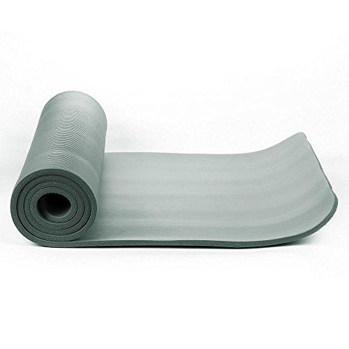 Buy TnP Accessories® NBR Foam Yoga Mat 190cm Long Dark Grey