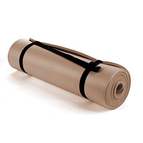 Buy TnP Accessories NBR Foam Yoga Mat 15mm Thick - Brown/Toffee