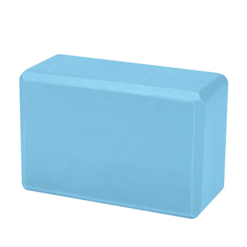 Buy Yoga Block Foam Brick - Ice Blue
