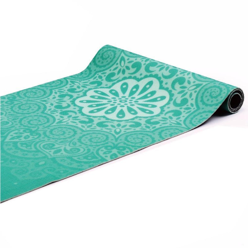 Buy TnP Accessories® 6mm Yoga Mats Soft Non Slip PVC Mandala Exercise Mat - Teal
