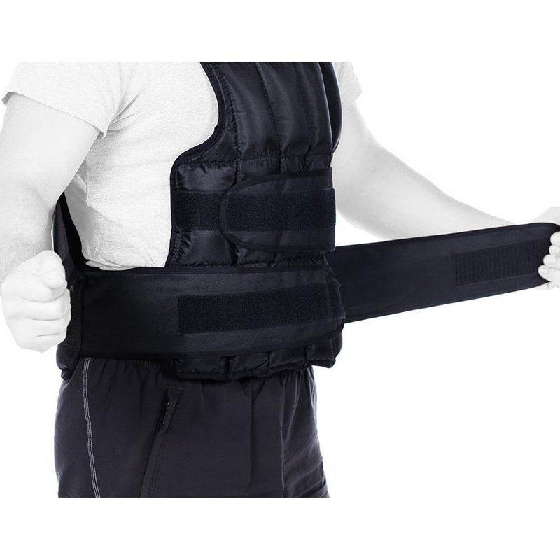 Buy Weighted Vest 25Kg Black